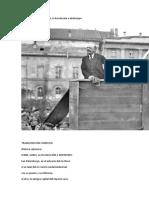 Lenin, Gorki, La Revolución a Destiempo
