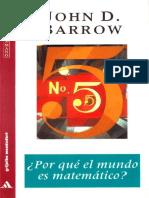 Barrow John D - Por Que El Mundo Es Matematico