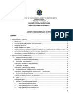 Caderno de Encargos e Especificacaoes Tecnicas