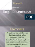 Group 5 Sentence English