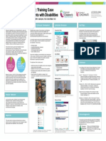 sebm poster-parenting with a disability-training ssas-april 2019