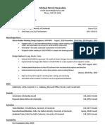 baxendale resume
