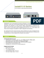 InRouter611-S Specification v1.3 Sep.2017