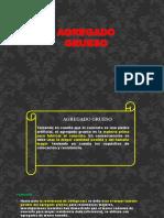 AGREGADOS GRUESO 222