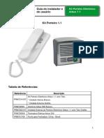 Manual Porteiro Eletronico Arbus 1.1