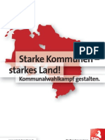 Kommunalwahlkampf gestalten.