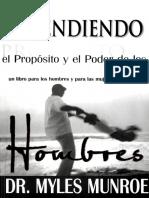 Entendiendo El Proposito El Poder de Los Hombres - Myles Munroe-desbloqueado.pdf
