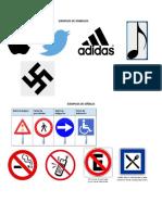 Ejemplos de Simbolos y Señales