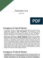 Pakistan Era (1947-1971)(1)