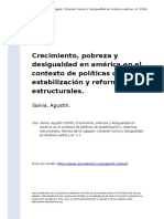 Salvia, Agustin (2008). Crecimiento, pobreza y desigualdad en america en el contexto de politicas de estabilizacion y reformas estructurales.pdf