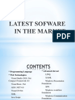 Latest Sofware in the Market