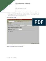 PMV Subba Rao - Authorizations Transactions