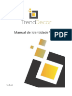 Manual de Identidade Visual Trend Decor