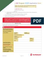 Ssgp Application Form