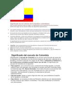 Significado de Los Colores de La Bandera Colombiana