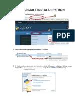 Descarga e Instalacion de Python