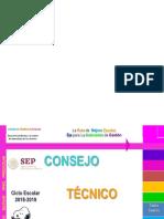 Presentacion Sexta Cte 2018-2019