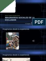 20190324 Imaginarios Sociales de Exclusion