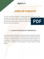 Communication Les Formes de Publicite