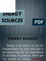 5 Energy Sources