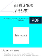 formulate a plan - swim safety