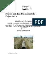 Caratula, Indice, Memoria Descriptiva, Tapas Nuevo