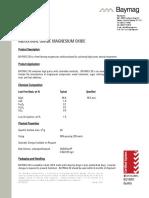 Data Sheet, Baymag 30