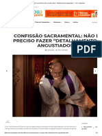 """Confissão Sacramental_ Não é Preciso Fazer """"Detalhamentos Angustiados"""" – Sou Catequista"""