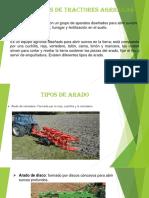 Implementos de Tractores Agricolas