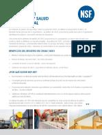 La Norma, OHSAS -Gestion Seguridad en Salud Ocupacional NSF