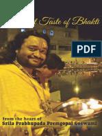 A Sweet Taste of Bhakti