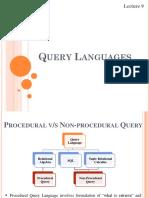 2. Lect 9 Query Languages.pptx