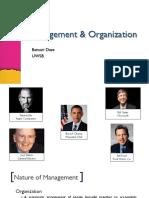 1 Management& Organisation