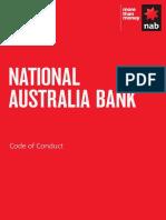 National Australia Bank Ltd Code of Conduct
