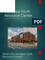 homeless youth resource center presentation