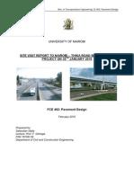 28608082 Nairobi Thika Road Improvement Project Site Visit Report by Sebestian Idalia