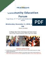 New Visions Phipp Community Education Forum Flyer 11-3-10-1