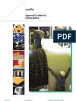 JM-CI-177 Pipe and Equipment Insulation Product Selection Guide