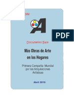 MÁS OBRAS DE ARTE EN LOS HOGARES