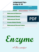 Enzyme- Assignment Dr.kashif - Copy