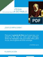 Estrategia Misionera de Pablo