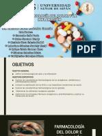 Farmacología Del Dolor y La Inflamacion
