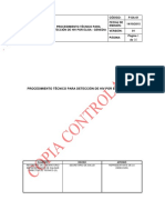 P-SA-61 PROCEDIMIENTO TÉCNICO PARA DETECCION DE HIV POR ELISA - GENEDIA V1