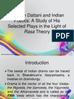 presentation rasa theory
