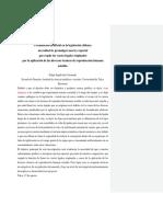ensayo sobre fecundación artificial en la legislación chilena