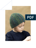 CROCHET - Boys Hat (Actually a Cap)