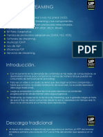 Redes de Distribución de Contenidos - Unidad 2 - Streaming