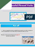 15 Te Most Useful Phrasal Verbs