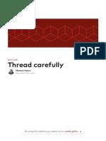 Thread Carefully - Madewithlove