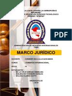 Marco Jurídico peruano